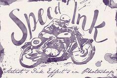 Speed Ink - Smart PSD by Ivan Rosenberg on @creativemarket