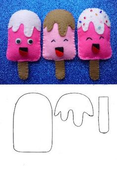 Easy DIY Felt Crafts, Felt Crafts Patterns and Felt Craft Tutorial Pdf. Pics 99123686 Easy DIY Felt Crafts, Felt Crafts Patterns and Felt Craft Tutorial Pdf. Felt Crafts Patterns, Felt Crafts Diy, Felt Diy, Sewing Crafts, Sewing Projects, Crafts For Kids, Easy Crafts, Felt Projects, Preschool Crafts