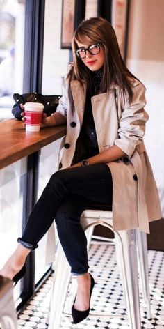 44 trendy business casual work outfit for women 27 - Outfits for Work Spring Outfit Women, Spring Work Outfits, Casual Work Outfits, Curvy Outfits, Mode Outfits, Office Outfits, Work Casual, Casual Chic, Office Wear