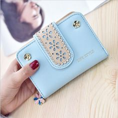 2017 New Style Wallet Women Luxury Brand Leather Ladies Purse Short For Girls Small Card Holder Money Wallets Fashion Wallets-in Wallets from Luggage & Bags on Aliexpress.com | Alibaba Group