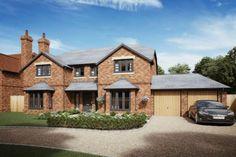 4 bedroom detached house for sale in Honey Farm, Preston Crowmarsh, Oxfordshire - Rightmove. Tudor House Exterior, Bungalow Exterior, House Exteriors, Amazing Houses, Bay Windows, Grand Designs, Modern Houses, House Goals, Dream Houses