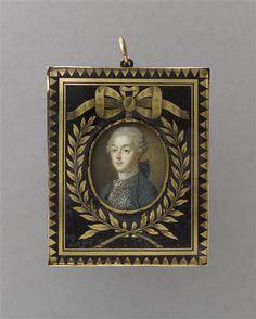 Portrait de Louis-Joseph de Bourbon, prince de Condé, école française du XVIIIe siècle