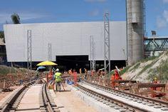 Pregopontocom Tudo: Obras da Linha 2 do Metrô de Salvador avançam e e empregam 8 mil trabalhadores...