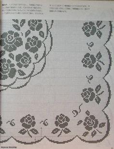 Crochet Knitting Handicraft: tablecloth