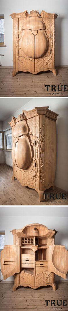 Beetle cabinet: