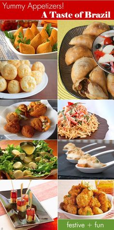 Appetizers for a Brazilian cocktail party during the Holidays! #brazil #bahia #food #streetfood