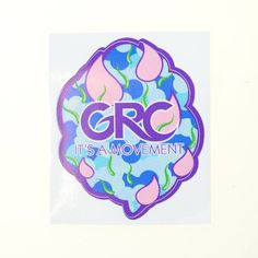 It's A Movement Sticker #Blue #Grassroots-Collection #GRC