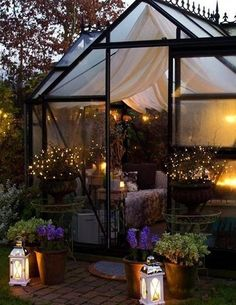Best Picture For indoor Greenhouse For Your Taste You are looking for something, and it is going to tell you exactly what you are looking for, and you didn't find that picture. Here you will find the Greenhouse Attached To House, Backyard Greenhouse, Greenhouse Plans, Backyard Patio, Backyard Landscaping, Backyard Ideas, Wedding Backyard, Small Greenhouse, Greenhouse Wedding