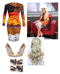 """""""Inspired by Tamar Braxton❤️"""" by pretty-girl-swag12 ❤ liked on Polyvore featuring Givenchy and Jimmy Choo"""
