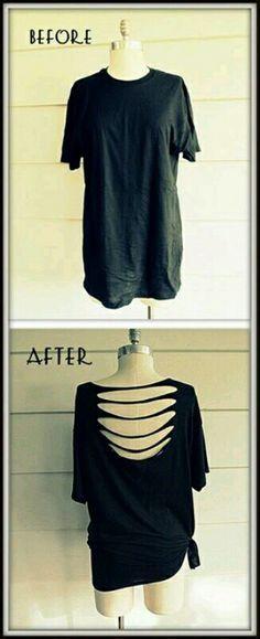 Q les parece reciclar nuestra ropa vieja y convertirla en algo fresco y a la moda.