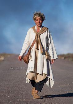 Cache poussière en lin sable chic et décontracté-:- AMALTHEE CREATIONS-:- n° 3448