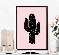 pôster cactus a3 - decoração sem marca
