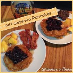 Adventures in Partaking: AIP Cassava Pancakes