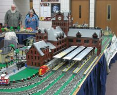 MichLTC Layout at Grayling Model Train Show, Oct 2-3, 2010 | Flickr - Photo Sharing!