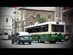Nuevos trolebuses de Valparaíso - YouTube