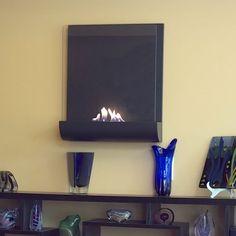 Nu-Flame Vampa Wall Mounted Decorative Fireplace