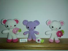 Amigurumi Bears - moje práce - Libuše-Libby