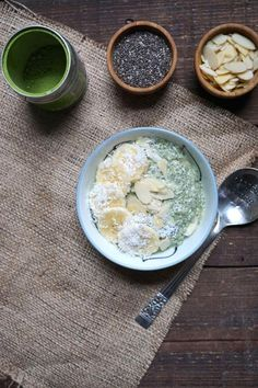 Matcha isn't limited to lattes - try this easy matcha chia pudding!