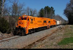 RailPictures.Net Photo: PICK 9504 Pickens Railroad GE U18B at East of Anderson, South Carolina by Kyle Ori