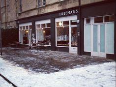 Image from Freemans Coffee Edinburgh