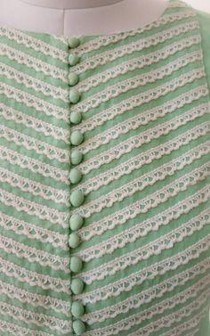 Best 12 Pastel Green Pure Linen Kurta Crochet lace detailing on yoke and sleeves Potli buttons detailing at centre Straight fit with side slits Salwar Neck Designs, Kurta Neck Design, Neckline Designs, Kurta Designs Women, Dress Neck Designs, Sleeve Designs, Blouse Designs, Sleeves Designs For Dresses, Neck Designs For Suits