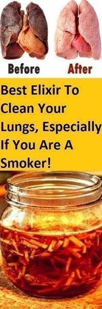 Even though everyone knows smoking is bad breaking this unhealthy habit is extremely hard. Almost all smokers have that characteristic constant cough and many even develop bronchitis after smoking for a longer period. The best option to prevent and eli Herbal Remedies, Health Remedies, Home Remedies, Natural Remedies, Health Diet, Health And Wellness, Health Fitness, Face Health, Healthy Drinks