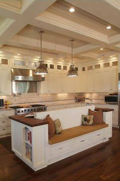 Island kitchen space---♥ it or leave it?
