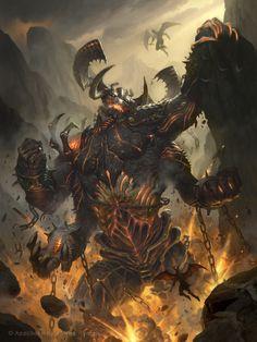 Unleashed Demon Normal by namesjames on DeviantArt