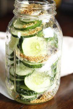 Savory Refrigerator Pickles   Dash of Texas