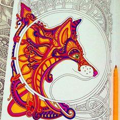 Fox #myart #ветеруноситцветы #mifbooks #cute #fox #coloring #coloringbook #coloringbookforadults #graphic #zendoodle #doodle #lineart #раскраска #раскраскаантистресс #раскраскадлявзрослых #фломастеры #instaart #illustration
