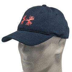 73c80698ebd Under Armour Hats  Men s Black HeatGear 1226433 003 Adjustable Antler Logo  Ball Cap