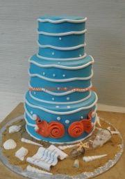 modern-wedding-cake-beach-theme-the-cake-zone-florida