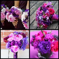 fuschia and purple weddings   Build Purple And Fuschia Wedding Project Forums Pictures