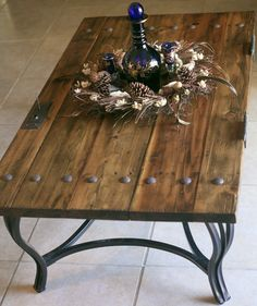 mexican doors converted to dining table | repurposed, doors and