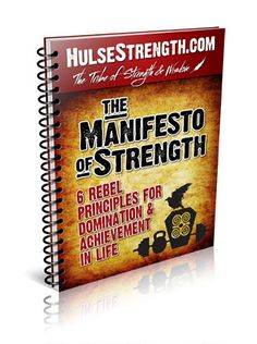 You will be a super strong man with The manifesto of strength review