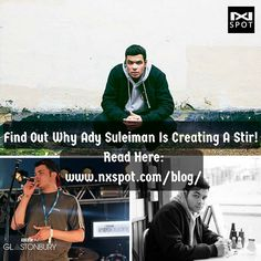 Ady Suleiman is being touted as one to watch! Find out more about this rising star on our blog page:   http://www.nxspot.com/blog/2016/04/29/ady-suleimans-running-away/  #UK #music #Techno #Listen #nowplaying #album #nxspot #beastar #singingstar #talentmanagement #bornstar #talent #beyoncefans #beyonce #songcover #business #startup #entrepreneur #connectwithfans #guide #rap #instamusic #musicvideo #video #promotion #song #singer #artist #EDM