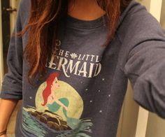 Cute Little Mermaid -shirt