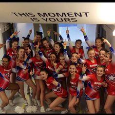 Team spirit on their way up to the floor #ukca