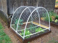 Raised bed covers