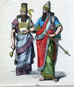 Assyrian High Priest and King clothing | Costume History