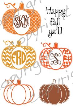 aztec pumpkin quatrefoil pumpkin frame monogram, cut file, vinyl ready design, SVG file, silhouette file, cricut file, ready to cut, fall
