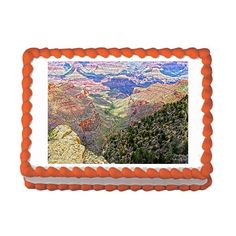 Grand Canyon by Pixeltrek Photography - Premium Exclusive Edible Image Cake / Cupcake Topper Personalized