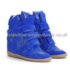Isabel Marant Bekett Blue Sneakers