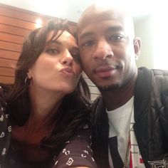 Hilarie Burton and Antwon Tanner #Returntotreehill2