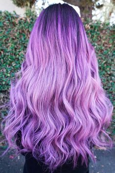 Light purple hair is exactly what you need in case you wish to look brighter this season. We have a collection of colorful hair looks to inspire you.