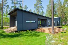 Modern holiday home Lokki. #Honka