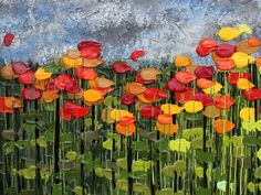 Artwork by legally blind artist-- Jeff Hanson. Blind Artist, Acrylic Flowers, High Art, Painting Lessons, Magazine Art, Contemporary Paintings, Oeuvre D'art, Painting Inspiration, Les Oeuvres