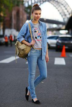 http://cademeuchapeu.com/  #Jeans #Denim