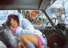 Просмотреть иллюстрацию Советский pin-up_календарь из сообщества русскоязычных художников автора Комиксар в стилях: Классика, нарисованная техниками: Другое.