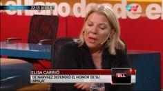 """NOTICIAS VERDADERAS: CARRIÓ: """"YO LO DEFIENDO A DE NARVÁEZ"""""""